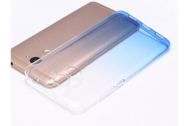 Фирменная ультра-тонкая полимерная задняя панель-чехол-накладка из силикона для Huawei Honor 6A прозрачная с эффектом дождя