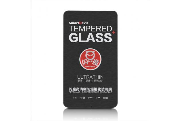 Фирменное защитное закалённое противоударное стекло для телефона Huawei Honor 6A из качественного японского материала премиум-класса с олеофобным покрытием