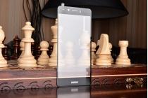 Фирменное 3D защитное изогнутое стекло с закругленными изогнутыми краями которое полностью закрывает экран / дисплей по краям с олеофобным покрытием для Huawei Enjoy 6S / Nova Smart 5.0/Huawei Honor 6C