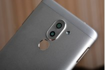 Родная оригинальная задняя крышка-панель которая шла в комплекте для Huawei Honor 6X серебристая