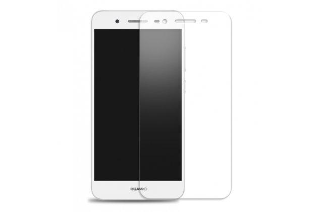 Фирменная оригинальная защитная пленка для телефона Huawei Honor 6X (BLN-AL10) 5.5 глянцевая
