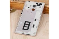 Родная оригинальная задняя крышка-панель которая шла в комплекте для Huawei Honor 7/ Honor 7 Premium 5.2 черная