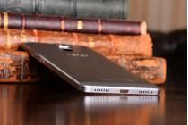 Родная оригинальная задняя крышка-панель которая шла в комплекте для Huawei Honor 7/ Honor 7 Premium 5.2 серая