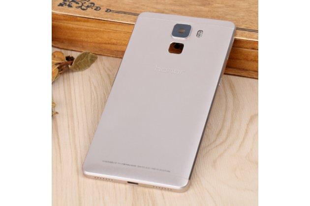 Родная оригинальная задняя крышка-панель которая шла в комплекте для Huawei Honor 7/ Honor 7 Premium 5.2 золотая