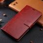 Фирменный чехол-книжка из качественной импортной кожи с мульти-подставкой застёжкой и визитницей для Huawei Ho..
