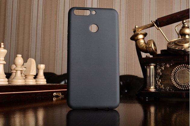 Фирменная ультра-тонкая полимерная из мягкого качественного силикона задняя панель-чехол-накладка для Huawei Honor 8 Pro 5.7/Huawei Honor V9 5.7(DUK-AL20) черная