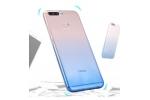 Фирменная ультра-тонкая полимерная задняя панель-чехол-накладка из силикона для Huawei Honor 8 Pro 5.7/Huawei Honor V9 5.7(DUK-AL20) прозрачная с эффектом дождя