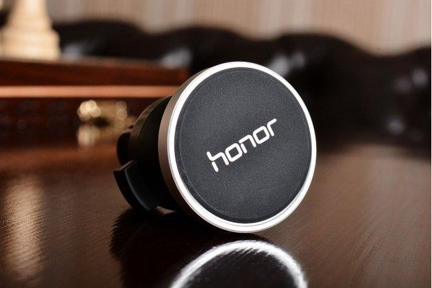 Фирменный оригинальный чехол-кейс из импортной кожи Quick Circle для Huawei Honor 8 Pro 5.7/Huawei Honor V9 5.7(DUK-AL20) с умным окном синего цвета.