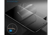 Фирменная оригинальная 3D защитная пленка с закругленными краями которое полностью закрывает экран для телефона Samsung Galaxy S8 SM-G9500 глянцевая