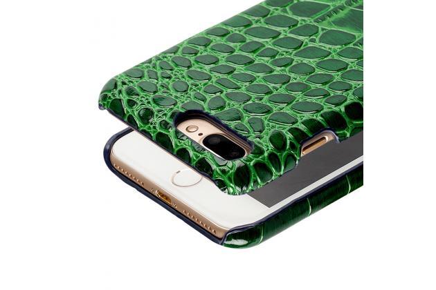 Фирменная элегантная экзотическая задняя панель-крышка с фактурной отделкой натуральной кожи крокодила черного цвета для Huawei Honor 9 . Только в нашем магазине. Количество ограничено.