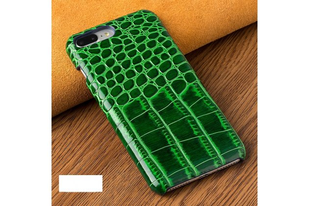 Фирменная элегантная экзотическая задняя панель-крышка с фактурной отделкой натуральной кожи крокодила зеленого цвета для Huawei Honor 9 . Только в нашем магазине. Количество ограничено.
