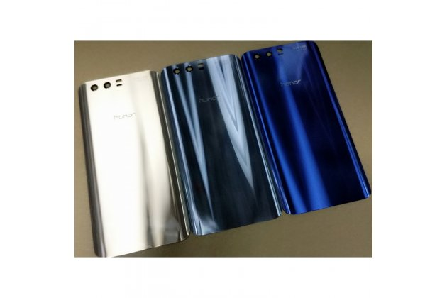 Родная оригинальная задняя крышка-панель которая шла в комплекте для Huawei Honor 9 сталь