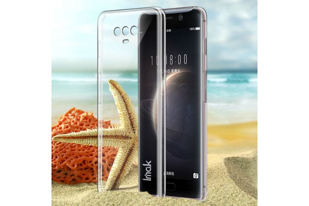 Фирменная ультра-тонкая пластиковая задняя панель-чехол-накладка для Huawei Honor Magic прозрачная