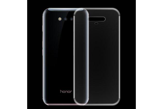 Фирменная ультра-тонкая полимерная из мягкого качественного силикона задняя панель-чехол-накладка для Huawei Honor Magic прозрачная