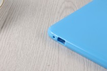 """Фирменная ультра-тонкая полимерная из мягкого качественного силикона задняя панель-чехол-накладка для Huawei Honor Pad 2 (JDN-W09/AL00)"""" голубая"""