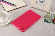 """Фирменная ультра-тонкая полимерная из мягкого качественного силикона задняя панель-чехол-накладка для Huawei Honor Pad 2 (JDN-W09/AL00)"""" красная"""