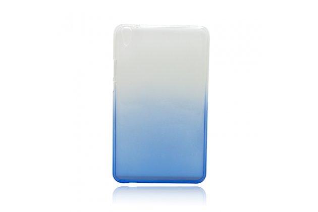 Фирменная ультра-тонкая полимерная задняя панель-чехол-накладка из силикона для Huawei Honor Pad 2 (JDN-W09/AL00) / Huawei MediaPad T2 8 Pro прозрачная с эффектом дождя