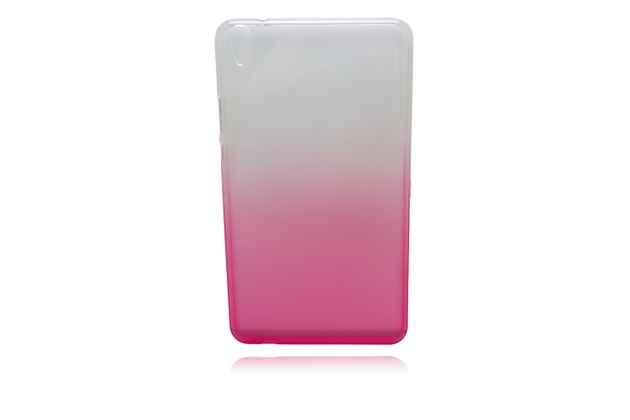 """Фирменная ультра-тонкая полимерная задняя панель-чехол-накладка из силикона для Huawei Honor Pad 2 (JDN-W09/AL00)"""" / Huawei MediaPad T2 8 Pro прозрачная с эффектом грозы"""