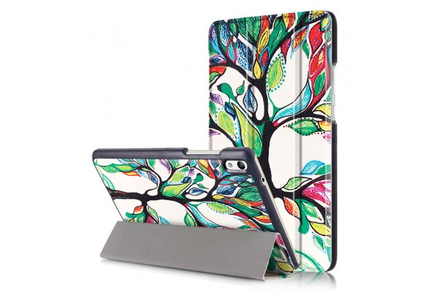 "Фирменный необычный чехол для Huawei Honor Pad 2 (JDN-W09/AL00)"" /Huawei MediaPad T2 8 Pro ""тематика книга Сказочное Дерево"""