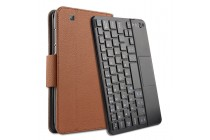 """Фирменный оригинальный чехол со съёмной Bluetooth-клавиатурой для Huawei Honor Pad 2 (JDN-W09/AL00)"""" коричневый кожаный + гарантия"""