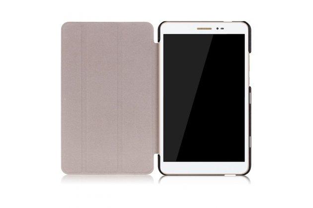 """Фирменный умный чехол самый тонкий в мире для Huawei Honor Pad 2 (JDN-W09/AL00)""""/Huawei MediaPad T2 8 Pro синий пластиковый Италия"""