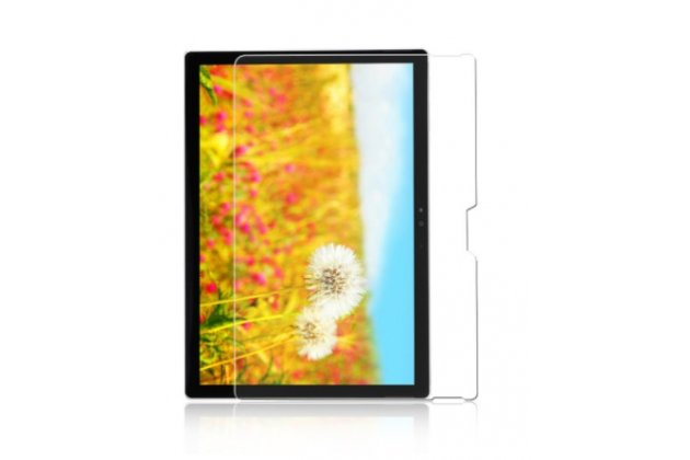 Фирменная оригинальная защитная пленка для планшета Microsoft Surface Book 13.5 глянцевая