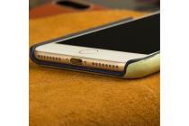Фирменная роскошная задняя панель-крышка обтянутая импортной кожей для Huawei Mate 8 (NXT-AL1) 6.0 тематика Лилия