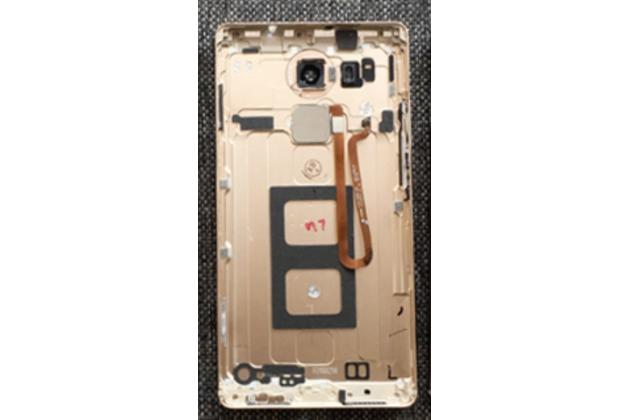 Родная оригинальная задняя крышка-панель которая шла в комплекте для Huawei Mate 8 (NXT-AL1) 6.0 золотая