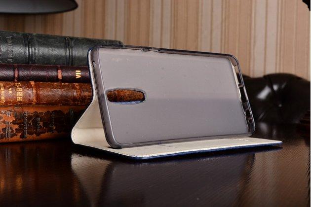 """Фирменный роскошный эксклюзивный чехол с объёмным 3D изображением кожи крокодила синий для Huawei Mate 9 Pro 5.5"""" (LON-L29). Только в нашем магазине. Количество ограничено"""