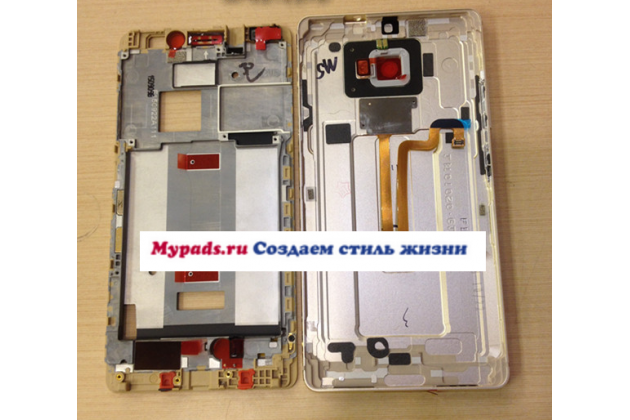Родная оригинальная задняя крышка-панель которая шла в комплекте для Huawei Mate S 5.5 (CRR-UL00) черная