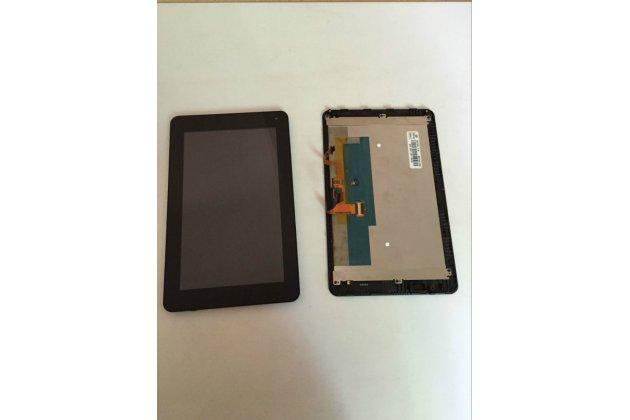 Фирменный LCD-ЖК-сенсорный дисплей-экран-стекло с тачскрином на телефон Huawei Mediapad 7 Lite (S7-931U) черный + гарантия