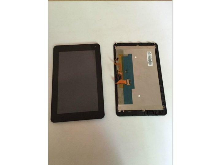 Фирменный LCD-ЖК-сенсорный дисплей-экран-стекло с тачскрином на телефон Huawei Mediapad 7 Lite (S7-931U) черны..