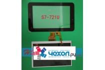 Фирменный LCD-ЖК-сенсорный дисплей-экран-стекло с тачскрином на планшет Huawei Mediapad 7 Youth (S7-721w/u) черный + гарантия