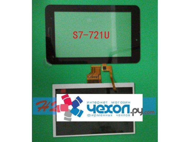 Фирменный LCD-ЖК-сенсорный дисплей-экран-стекло с тачскрином на планшет Huawei Mediapad 7 Youth (S7-721w/u) че..