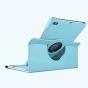 Чехол для планшета Huawei MediaPad M2 10.0 M2-A01W/L 10.1 поворотный роторный оборотный бирюзовый кожаный..