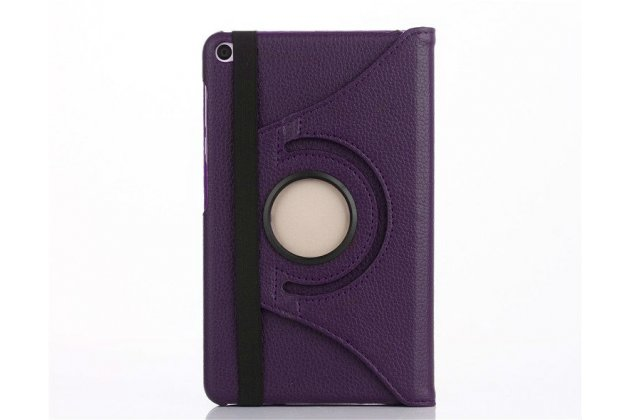 Чехол для планшета Huawei MediaPad M2 7.0 (PLE-703L) поворотный роторный оборотный фиолетовый кожаный