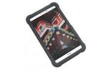 Фирменная ультра-тонкая из мягкого качественного силикона задняя панель-чехол-накладка для Huawei MediaPad M2 7.0 (PLE-703L) черная