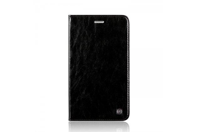 Фирменный премиальный элитный чехол-книжка из качественной импортной кожи с мульти-подставкой для Huawei MediaPad M2 7.0 (PLE-703L)  черный