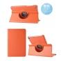 Чехол для планшета Huawei MediaPad M2 8.0 LTE (M2-801W M2-803L) поворотный роторный оборотный оранжевый кожаны..