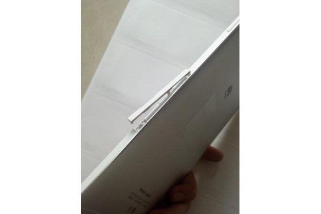 Родная оригинальная задняя крышка-панель которая шла в комплекте для Huawei MediaPad M2 8.0 LTE (M2-801W M2-803L) серебристая