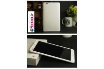 Фирменная ультра-тонкая полимерная из мягкого качественного силикона задняя панель-чехол-накладка для Huawei MediaPad M3 8.4 LTE (BTV-W09/DL09) белая