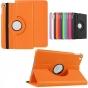 Чехол для планшета Huawei MediaPad T1 T1-701u 7.0 поворотный роторный оборотный оранжевый кожаный..