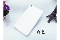 Фирменная ультра-тонкая полимерная из мягкого качественного силикона задняя панель-чехол-накладка для Huawei MediaPad T1 T1-701u 7.0 белая