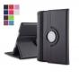 Чехол для планшета Huawei MediaPad T1 T1-701u 7.0 поворотный роторный оборотный черный кожаный..