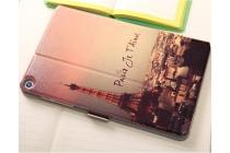 "Фирменный чехол-книжка с безумно красивым рисунком для Huawei MediaPad T1 T1-701u 7 тематика ""Париж"""