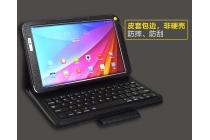 Фирменный чехол со съёмной Bluetooth-клавиатурой для Huawei MediaPad T2 10.0 Pro/ T2 10.0 Pro LTE черный кожаный + гарантия