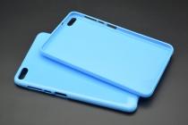 Фирменная ультра-тонкая полимерная из мягкого качественного силикона задняя панель-чехол-накладка для Huawei MediaPad T2 7.0 Pro (PLE-701L) синяя