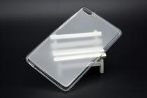 Фирменная ультра-тонкая полимерная из мягкого качественного силикона задняя панель-чехол-накладка для Huawei MediaPad T2 7.0 Pro (PLE-701L) белая