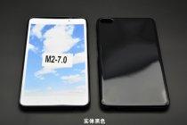 Фирменная ультра-тонкая полимерная из мягкого качественного силикона задняя панель-чехол-накладка для Huawei MediaPad T2 7.0 Pro (PLE-701L) черная