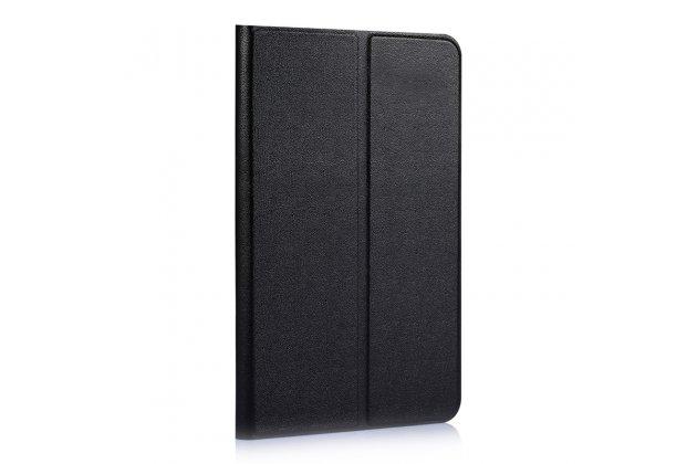 Фирменный чехол-футляр-книжка для Huawei MediaPad T2 8 Pro/Honor Pad/Tablet 2 (JDN-W09/AL00) черный кожаный